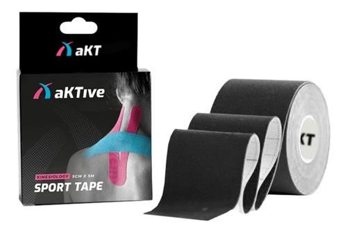 Imagem 1 de 2 de Bandagem Elástica Adesiva Fita Kinesio Aktive Tape