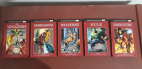 Coleção Os Heróis Mais Poderosos Da MarvelNúmeros 1 A 5