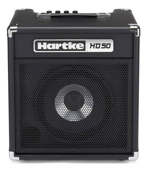 Cubo Amplificador Contra Baixo Hartke 50w Hd50