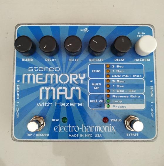 Pedal Electro Harmonix Memory Man Com Hazarai Delay