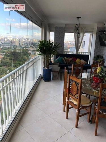 Imagem 1 de 30 de Apartamento Com 3 Dormitórios À Venda, 153 M² Por R$ 1.570.000,00 - Freguesia Do Ó - São Paulo/sp - Ap3850