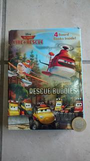 Libro Aviones Planes Disney Hojas Gruesas Vocabulario Ingles