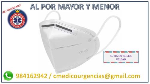 Imagen 1 de 3 de Mascarilla N95 Re-utilizable Contra Virus - Chiclayo
