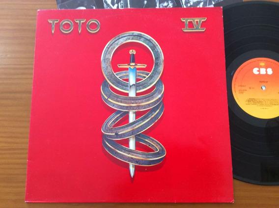 Lp Toto Iv 1982 Com Encarte Holanda