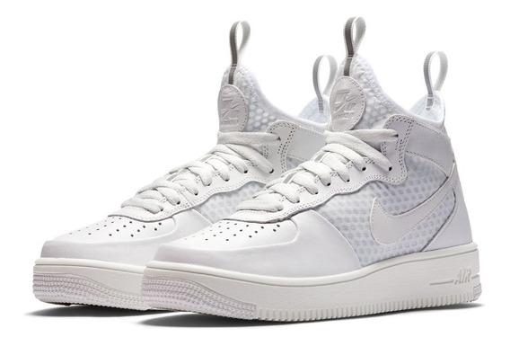 Zapatillas Mujer Nike Air Force 1 Ultraforce Mid Cuero Envio