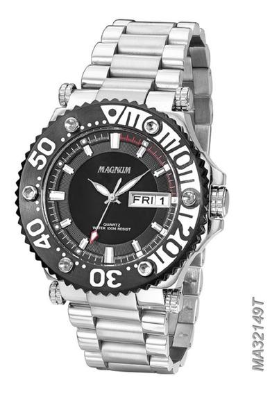 Relógio Analógico Sports Masculino Magnum Ma32149t