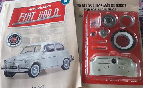 Auto De Colección Fiat 600 P/armar