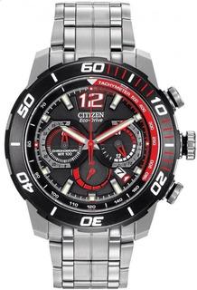 Reloj Citizen Ca4088-51e Crono Acero Ecodrive Promo 30