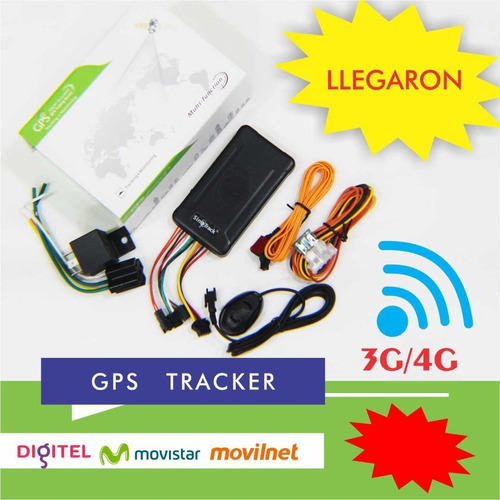 Gps Tracker 3g / 4g Sinotrack Digitel / Movistar / Movilnet