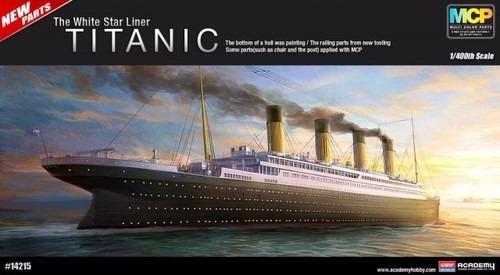 Academy Barco Rms Titanic 1/400 En Colores Supertoy Envios