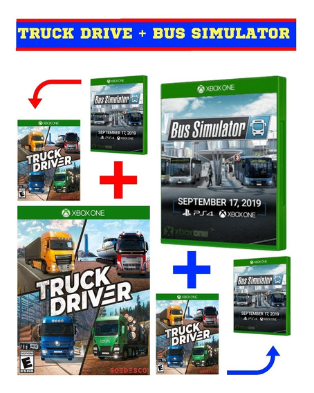 Truck Drive + Bus Simulator Xbox One Mídia Digital