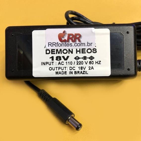 Fonte Carregador P/ Caixa Som Denon Heos1 Wifi Bluetooth 18v