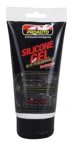 Imagem 1 de 5 de Silicone Em Gel Alta Performance Perfumado 150g Proauto