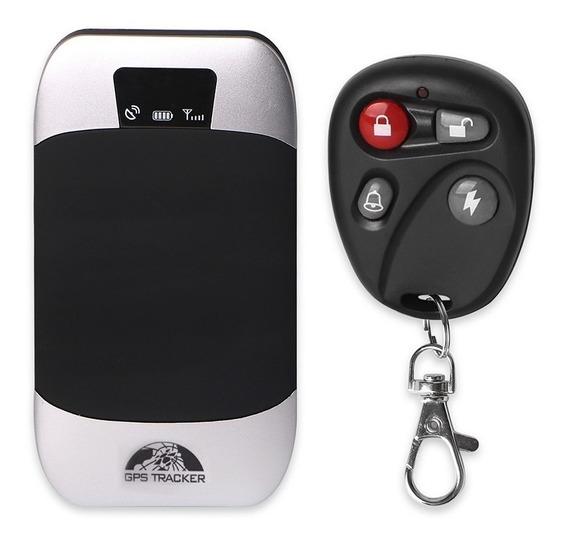 Rastreador Gps Bloqueador Veicular Carro Moto Tk303g