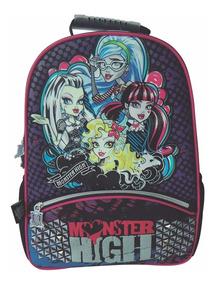 Mochila Espalda Monster High 16 Pulg Orig Dm400 Mundo Manias