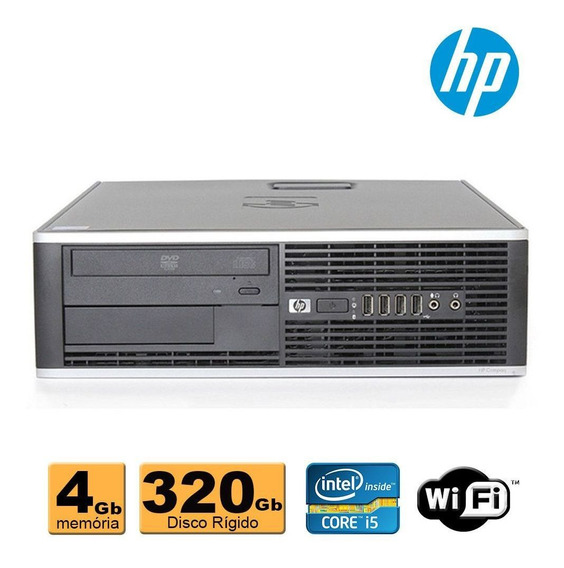 Computador Cpu Hp Elite Core I5 4gb 320gb Wifi Garantia