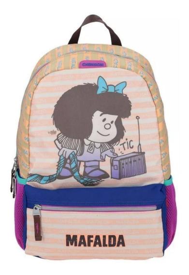 Mochila Escolar Chenson Mafalda Backpack Juvenil Infantil