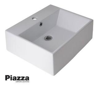 Bacha Loza Porcelana Enlozado Apoyo Baño Piazza A117 1 Ag.
