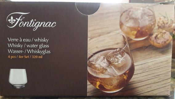 Jogo De Copos Para Whisky Fontignac
