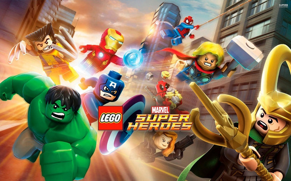 Lego Marvel Super Heroes ( Mídia Física ) Pc - Dvd