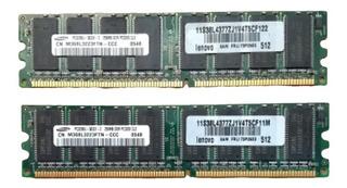 Memoria Ram 4x256 1gb Samsung Ddr Pc3200 Con Envio!