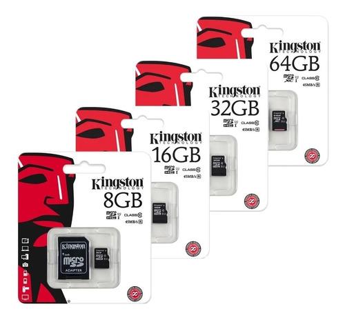 Tarjeta Memoria Micro Sd, Clase 10 (16gb 32gb 64gb 128gb)