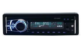 Som Automotivo Mp3 - Radio Fm - Bluetooth - Dazz C/ Garantia