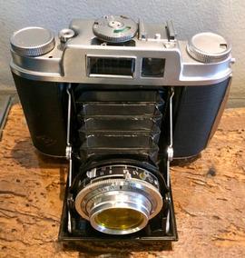 Câmera Agfa Isolette - L Revisada Filme 120 Médio Formato