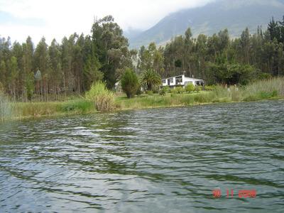 Hermosa Propiedad A Orillas Del Lago San Pablo 12865 Metros