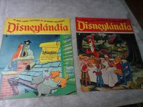 Lote 10 Revistas Disneylandia De 1971