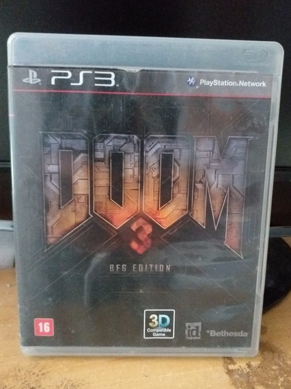 Doom 3, Ps3, Mídia Física