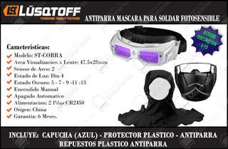 Mascara Fotosensible Antiparra Lusqtoff St-cobra