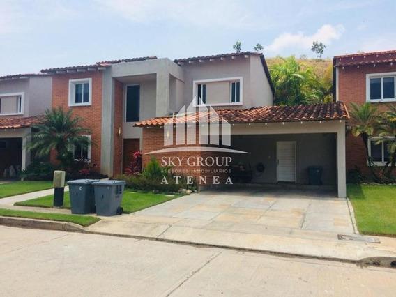 (atc-424) Casa Amoblada En Lomas Del Country