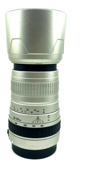 Lente Zoom Sigma 100-300mm F/4.5-6.7 P/ Canon - Lente Demo §