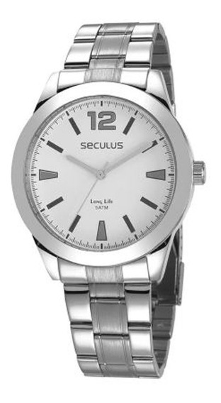 Relógio Seculus Masculino Long Life 28981g0svna2