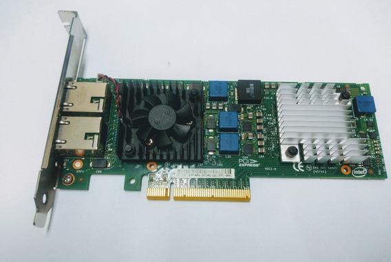 Placa Intel Dell Pci-e / 10gb 2 Porta 0jm42w(servidor R710)
