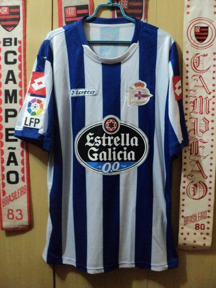 Camisa La Coruña ( Espanha / Made In Italy )