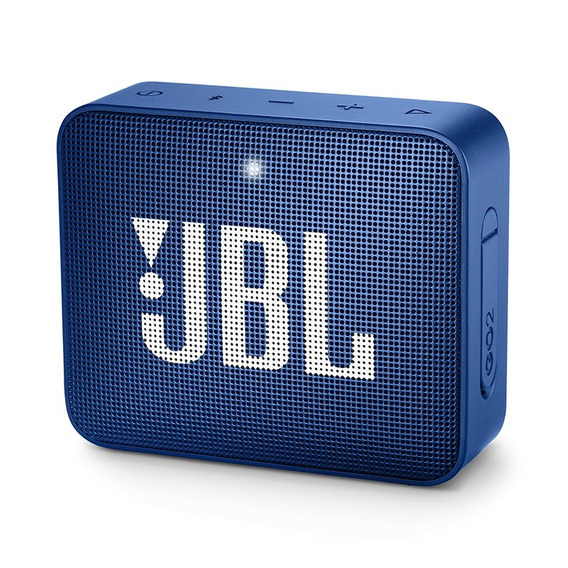 Caixa Portátil Jbl Box Go 2 - 3w Azul Bluetooth Prova D