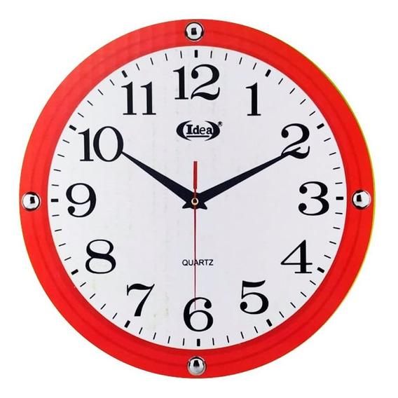 Relógio De Parede Redondo Grande 30 Cm