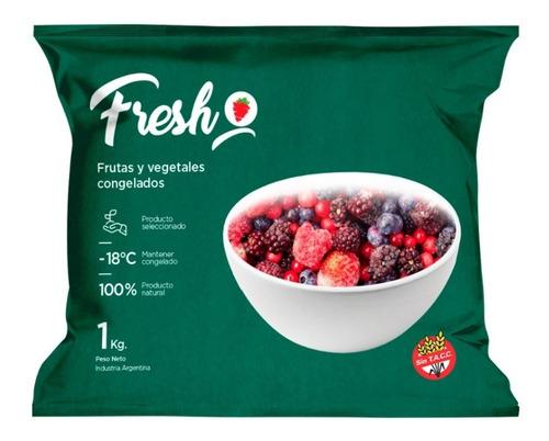 Mix Frutos Rojos Congelados C/frutilla Fresh X 1kg