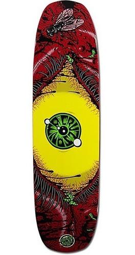 Imagem 1 de 2 de Shape Skate Santa Cruz Bloodshot Red 8,24x31,79 Maple Usa