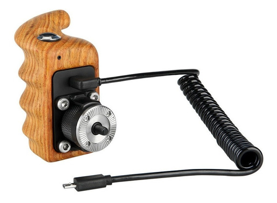 Niceyrig Right Wooden Hand Grip W/ Record Start/stop Remote