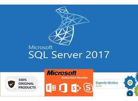 Sql Server 2017 Standard Original +50 Cal +nota Fiscal