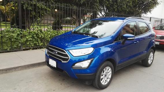 Ford Eco Sport Casi Nueva 2018