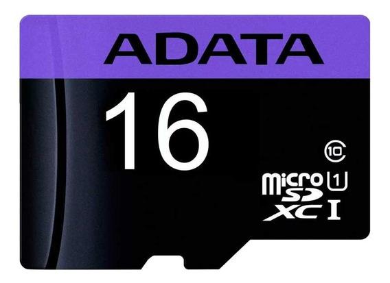 Tarjeta de memoria Adata AUSDH16GUICL10-RA1 Premier 16GB