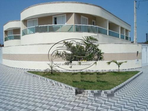 Sobrado De 2 Dormitórios Em Praia Grande Sp.