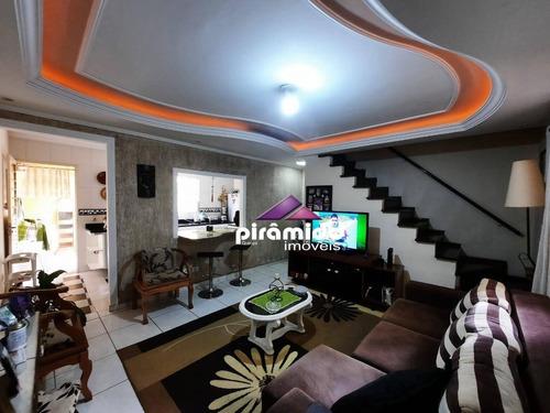 Casa Com 3 Dormitórios À Venda, 74 M² Por R$ 300.000,00 - Jardim Vale Do Sol - São José Dos Campos/sp - Ca5989
