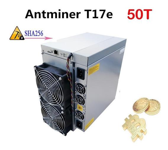 Mineradora Bitcoin Antminer Bitmain Asic T17e 50 Th/s