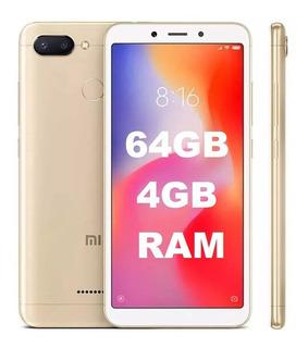 Xiaomi Redimi 6 32gb 3gb Ram Sensor Digital+fone+pelicula
