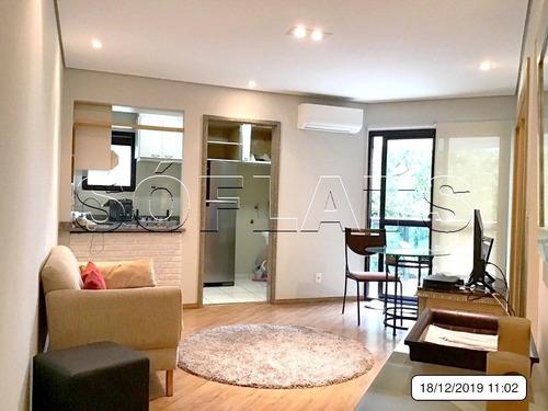 Excelente Forma De Investimento: Flat No Paraíso Alto Padrão - Sf25593